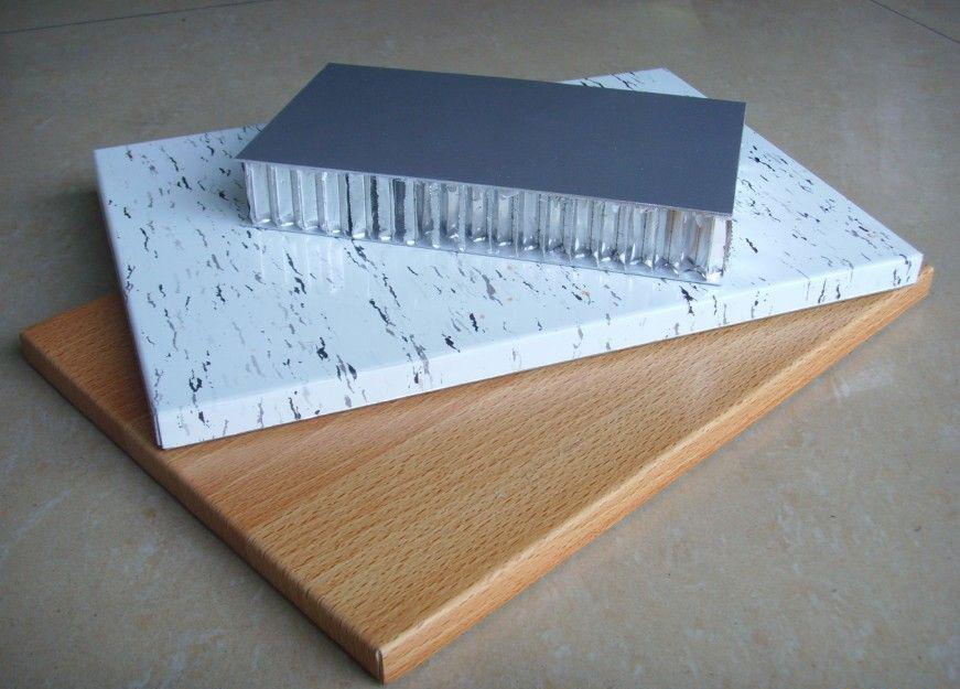 弧形鋁蜂窩板